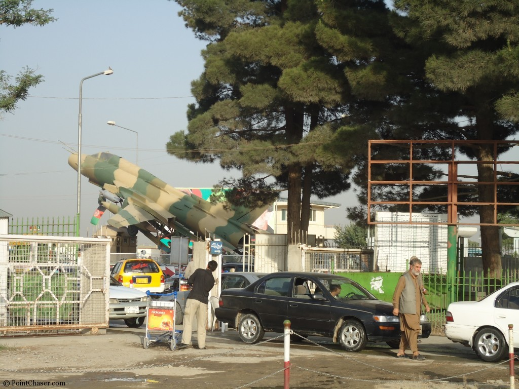 Parking Lot at Kabul Airport
