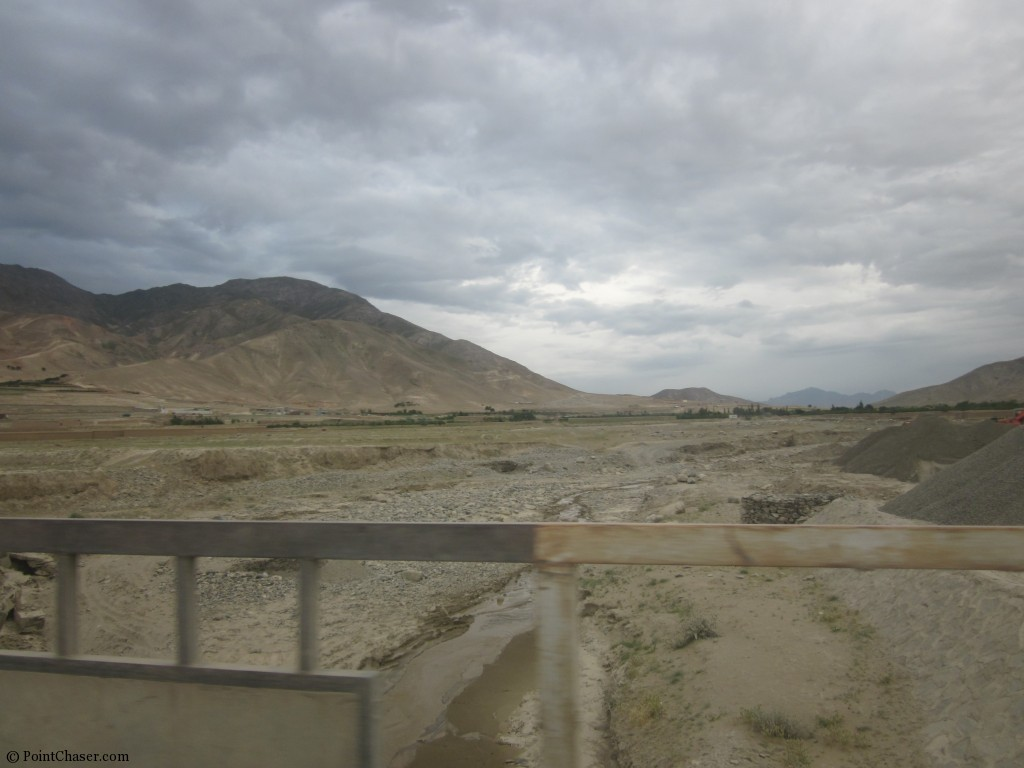 Dried up River in Arghandeh
