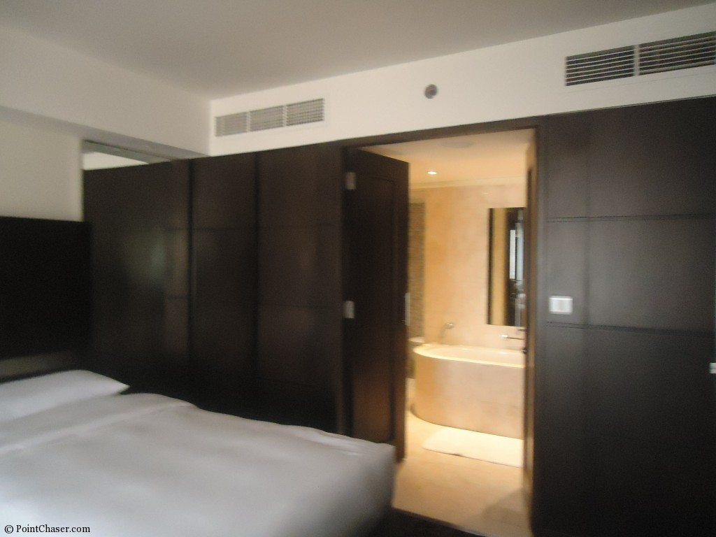 Hyatt Regency Dubai Regency King Suite bedroom 3
