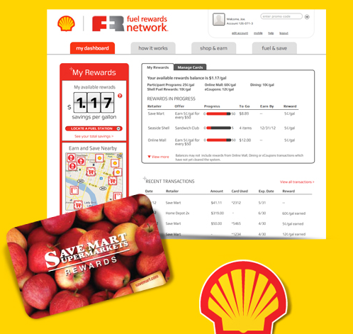 Shell Save Mart Fuel Rewards