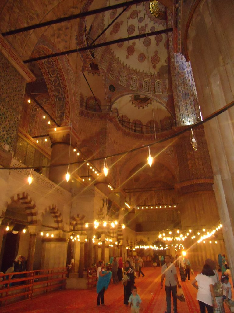 Blue Mosque Sultanahmed interior