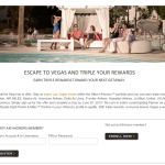 Earn Triple Miles on Hilton Las Vegas Stays
