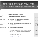 100,000 Mile Citi Executive AAdvantage World MasterCard