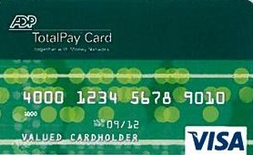 ADP TotalPay card