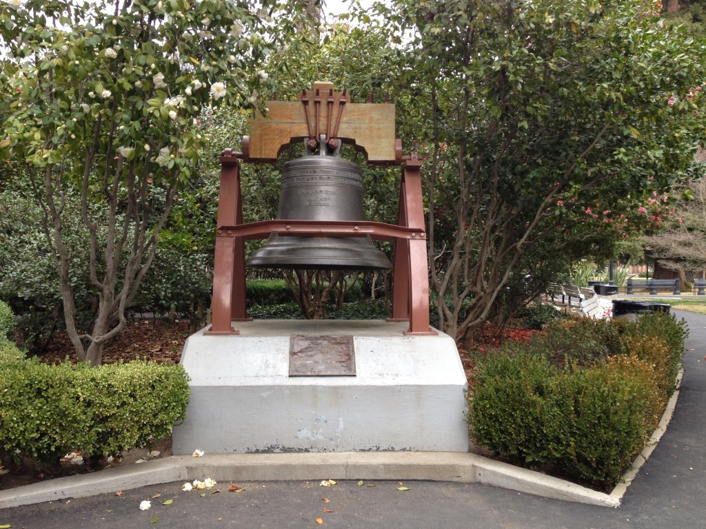 California Capitol Park Liberty Bell Replica