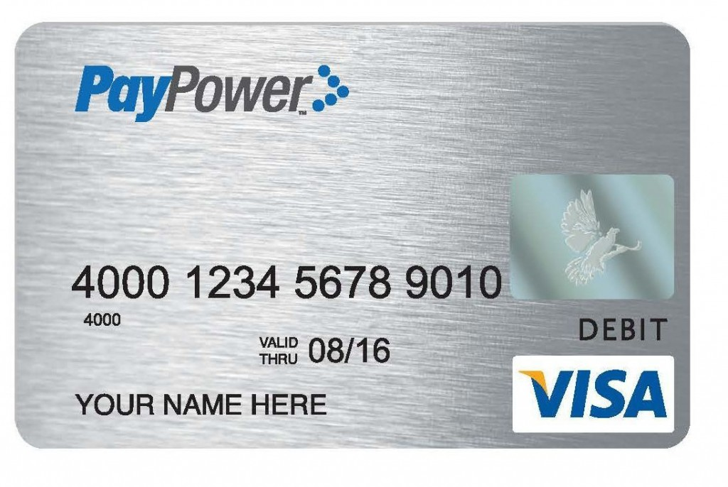Paypower Prepaid Visa Card
