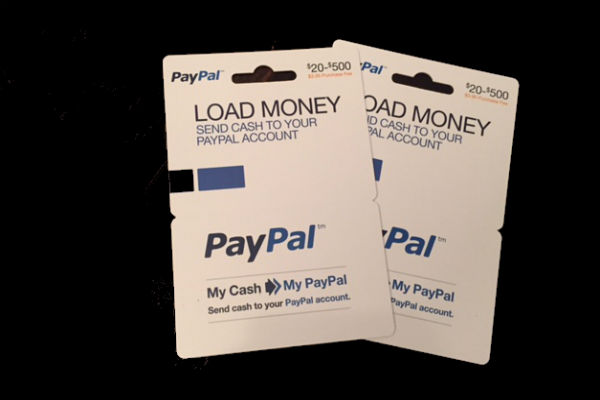 Paypal My Cash Reload Cards