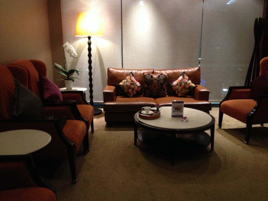 Thai Airways Royal First Class Lounge Private Room Bangkok Suvarnabhumi Airport