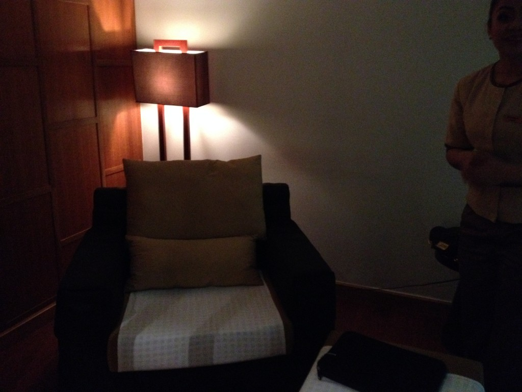 Thai Airways Royal Orchid Spa Massage Room Bangkok