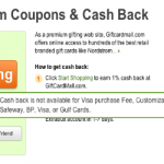 Extrabux No Longer Offering Cash Back on Visa Gift Card Purchases