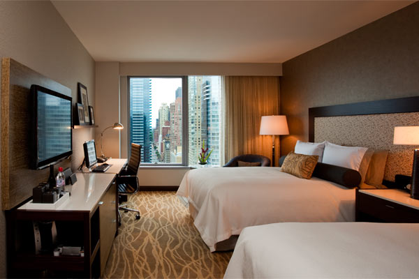 Intercontinental New York Times Square Double Room