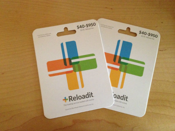 ReloadIT Prepaid Cards
