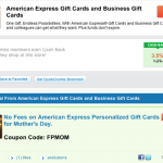 Big Crumbs Offering 3.5% Cashback on American Express Gift Cards