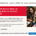 2,500 Bonus Miles with the Alaska Airlines Visa Signature Card