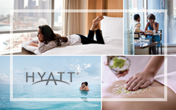 Hyatt $100 egift card giveaway