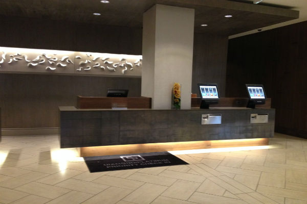 Hyatt Regency Sacramento check-in