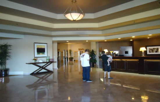 Sheraton Mission Valley hotel lobby