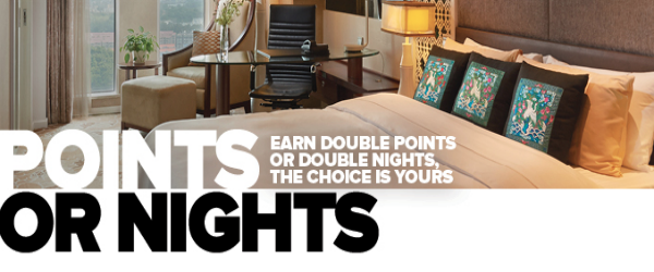 Club Carlson Double Points or Nights Promotion