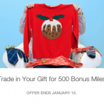 Rocketmiles Deal: Exchange Unwanted Gifts for 500 Miles