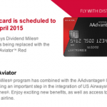10% Redemption Bonus from the Barclay AAdvantage Aviator Red Card Already Posting