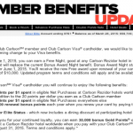 Changes to the Club Carlson Credit Card Coming June 1, 2015