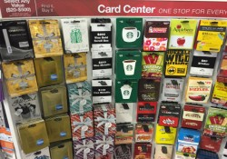 Office Depot Visa Gift Card Rack