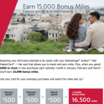 Targeted: 15,000 Bonus Miles for Barclay AAdvantage Aviator Cardholders