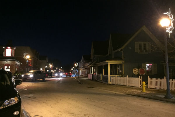 Main Street Unionville Ontario - a stand-in for Stars Hollow, CT from the show Gilmore Girls