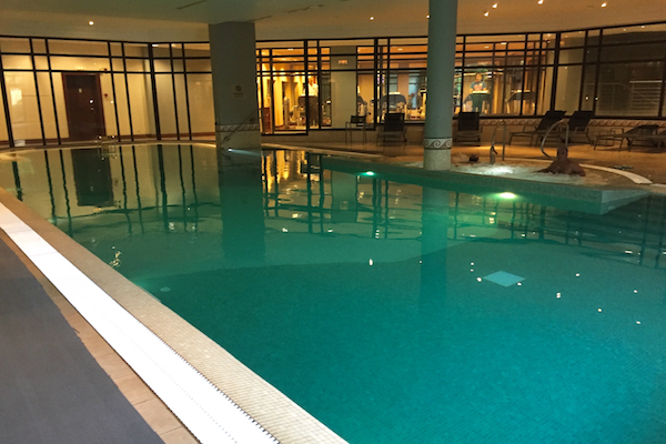Indoor Pool at Hyatt Regency Thessaloniki