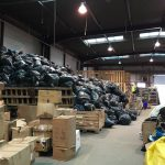 Calais Diaries: Day 1 at the Help Refugees Warehouse
