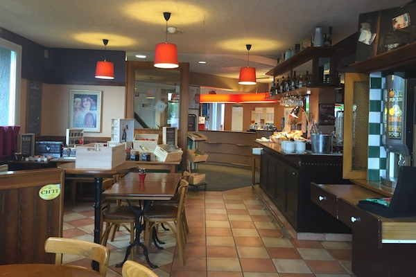 Market Style Breakfast Buffett Restaurant at Ibis Calais Hotel in France