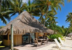 Beach Bungalow at the Intercontinental Le Moana Bora Bora Resort