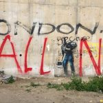 Calais Diaries: Banksy's Mural and the American Living in the Calais Jungle