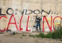 Banksy's Steve Jobs Mural Calais Jungle refugee camp