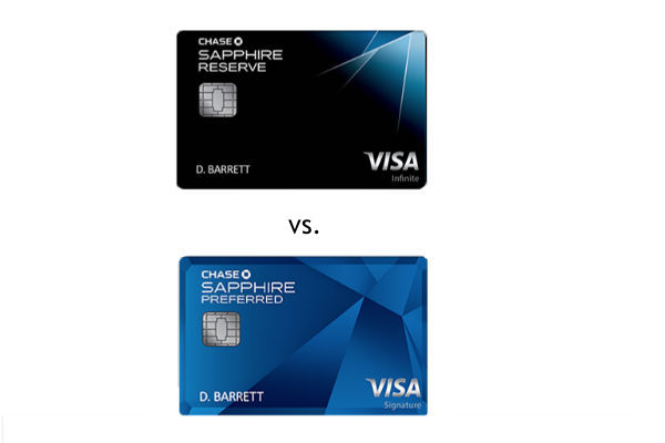 Sapphire Reserve Vs Sapphire Preferred Which Credit Card Is Better