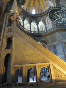 Hagia Sophia Minbar