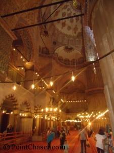 Blue Mosque Sultanahmed interior