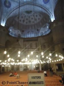 Sultanahmed Blue Mosque interior
