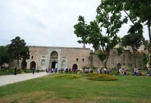 Topkapi Palace Entrance