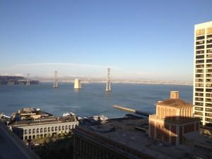 Hyatt Regency San Francisco View from the Regency Club Lounge