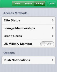LoungeBuddy iPhone App