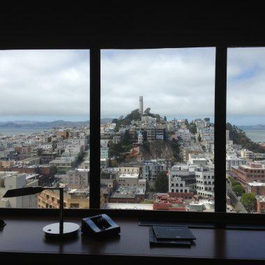 Hilton SF Financial District Club Level Room