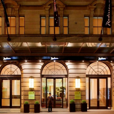 Radisson Blu Plaza Hotel Sydney Club Carlson