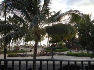 View from the check-in area Hyatt Regency Waikiki Beach Hotel