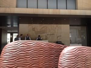 Park Hyatt Sydney Hotel Entrance Bell Desk