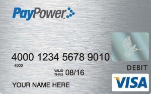 Paypower Prepaid Visa Card