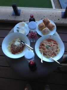 Park Hyatt Sydney Room Service Lunch on the Balcony
