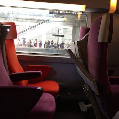 TGV Train Paris to Lille France