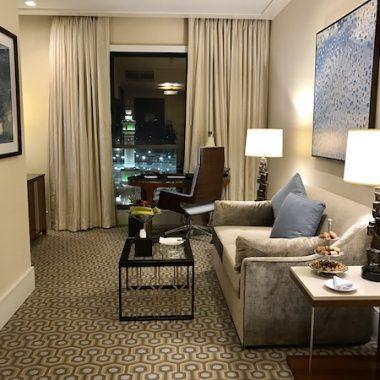 Conrad Makkah Haram View Suite Living Room
