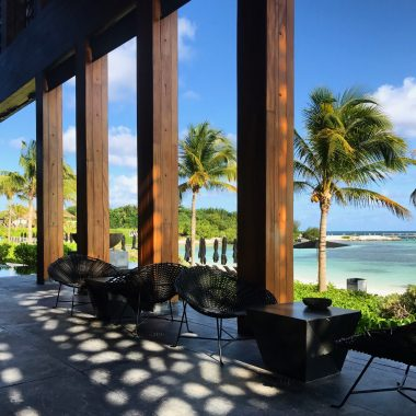 Nizuc Resort Cancun Restaurant outdoor seating by the beach